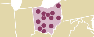View an interactive map of Ohio principals participating in the project